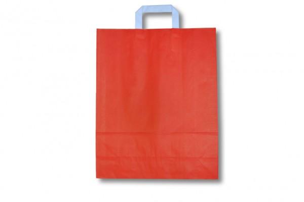 Papiertragetasche rot