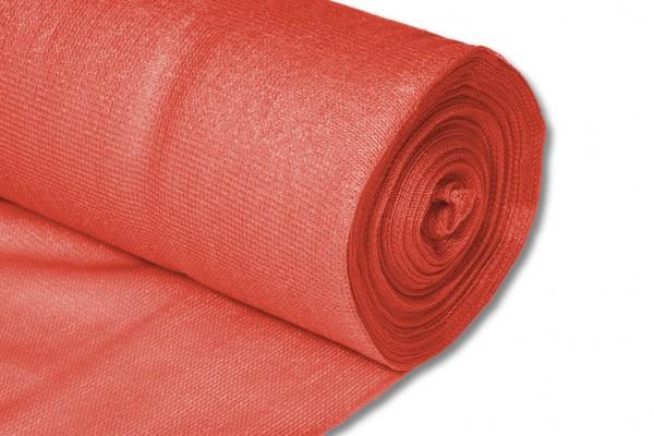 Schattiernetz 230g 4 x 30m, rot