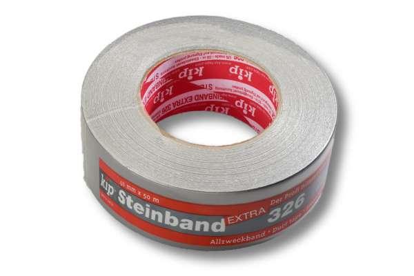 Gewebeklebeband, 48 mm / 50 m, Naturkautschuk, silber, POWER