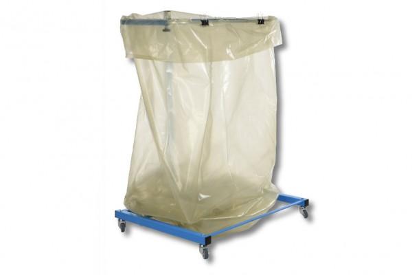 Müllsackständer für 1000 Liter, mit Laufrollen