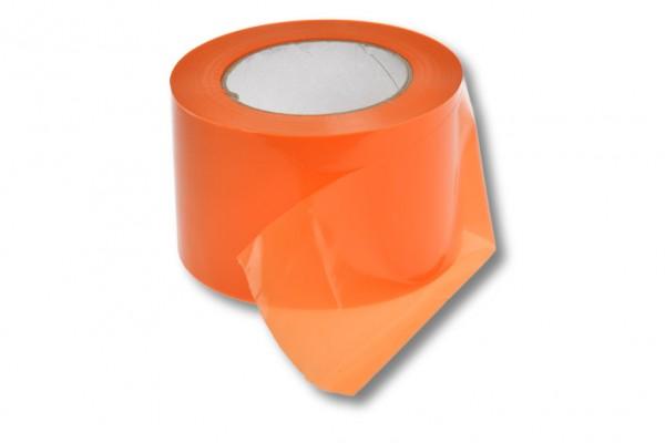 Absperrband, 75 mm / 100 m, orange