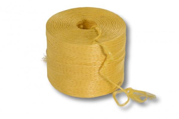 Bindfaden, gelb, 700m je kg PP