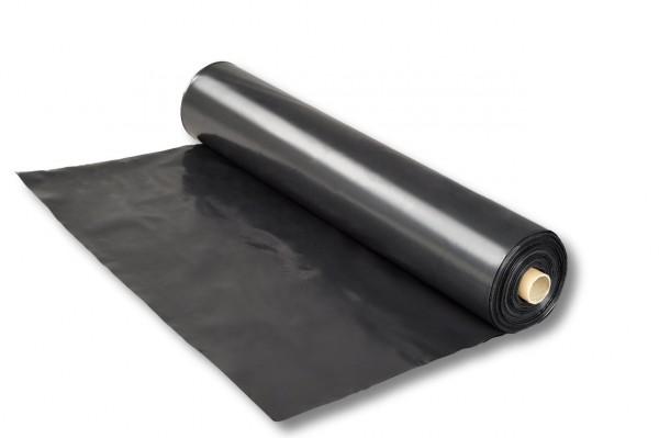 LDPE-Folie, schwarz, 6,00 x 25 m, 150 my (µ)