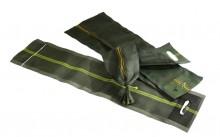 Silosandsäcke, 250 x 1000 mm, mit Griffloch & Zugband
