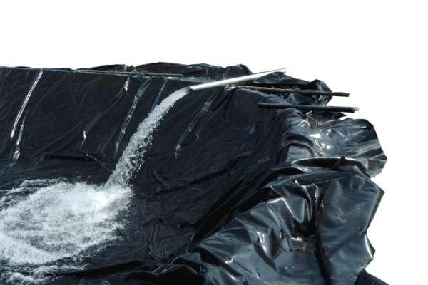 Teichfolie LDPE schwarz 1,0 mm 4,00 m breit