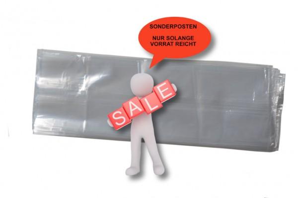 Seitenfaltenbeutel 130 + 100 x 450 mm, 30my (30µ), SOPO