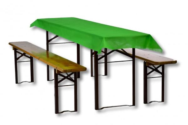 Biertischdecke grün