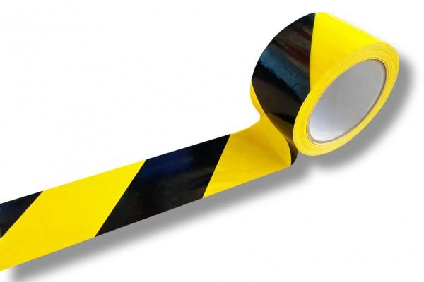 Markierungsband schwarz/gelb