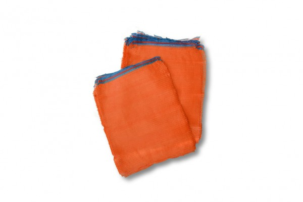 Raschelsack orange