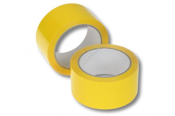 PP-Packband, 50 mm / 66 m, Acrylat, gelb