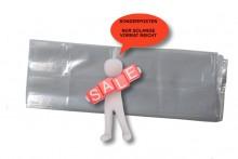 Seitenfaltenbeutel 120 + 80 x 320 mm, 30my (30µ), SOPO