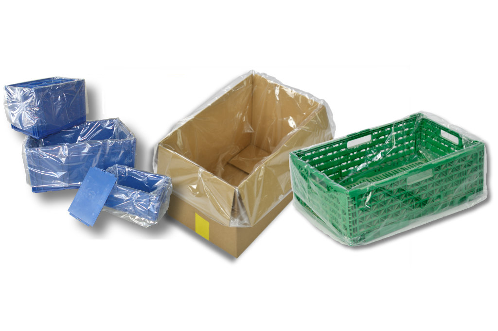 2500 L Säcke 15 Stück Müllsäcke Seitenfaltensäcke PE Beutel Styroporsäcke Säcke
