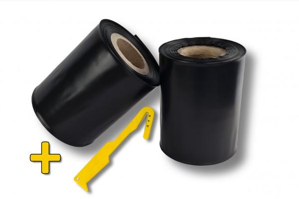 dachrinnenschlauch-schwarz-inklusive-messer