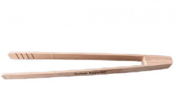 Grillzange aus Bambus