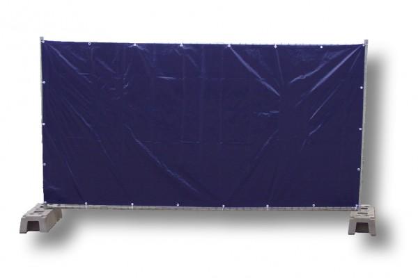 Bauzaunplane, blau 1,76 x 3,41 m