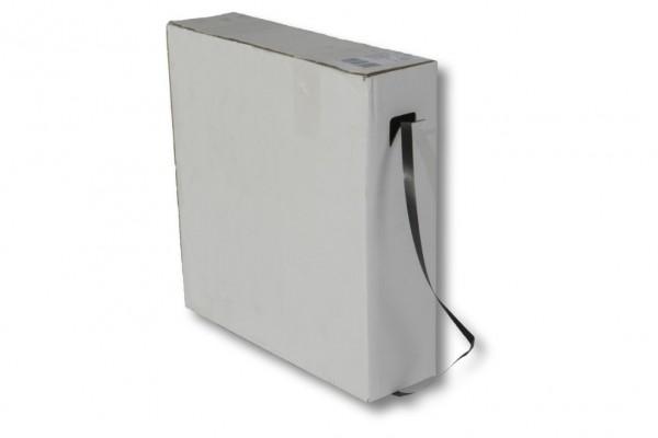 PP-Umreifungsband, schwarz, 12,0 x 0,45 mm 1000 m Spendekarton