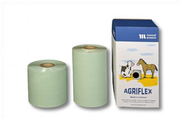 Agrarstretchfolie, Agriflex 750 mm / 1500 m grün