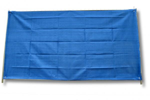Bauzaunnetz, blau, 1,80 x 3,45 m, Fertigmaß