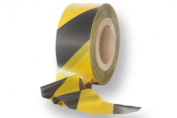 Absperrband gelb schwarz