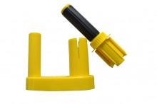Stretchfolien Abroller W520, gelb