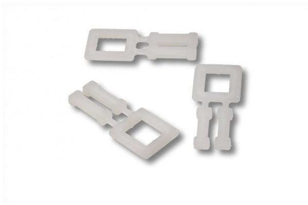 Kunststoffschnallen für PP-Umreifungsband 13 mm