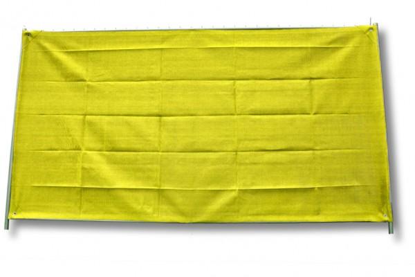 Bauzaunnetz gelb, 1,80 x 50 m, Rollenware