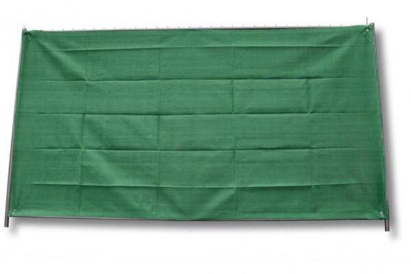 Bauzaunnetz, grün, 1,80 x 3,45 m, Fertigmaß