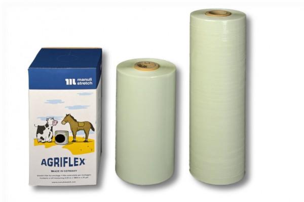 Agrarstretchfolie, Agriflex 375 mm / 1500 m grün