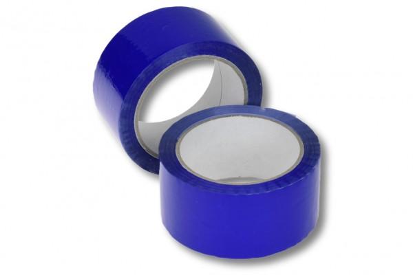 PP-Packband, 50 mm / 66 m, Acrylat, blau