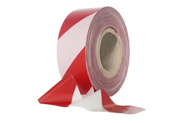 Absperrband rot/weiß