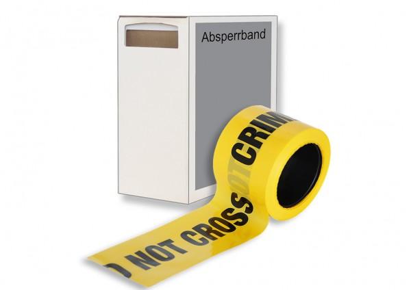 Absperrband Crime Scene Do Not Cross