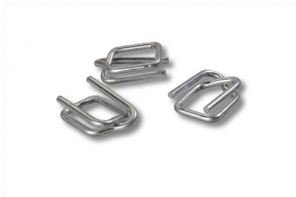 Metallschnalle für Polyester-Kraftbänder 13 mm