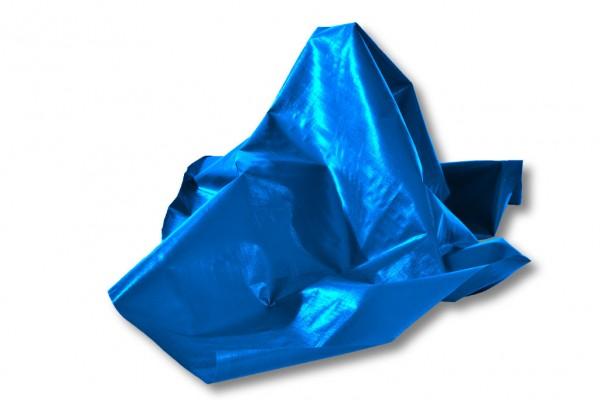 blaue Gewebefolie
