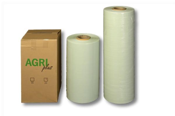 Agrarstretchfolie, AgriPlus blas 750 mm / 1500 m grün