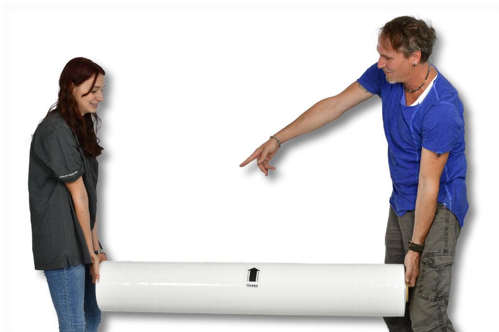 mantelfolie netzersatzfolie f r das pressen von rundballen dm folien. Black Bedroom Furniture Sets. Home Design Ideas