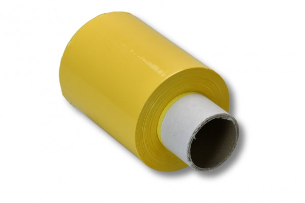 Mini-Stretchfolie gelb